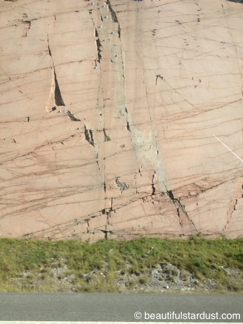 A rock wall